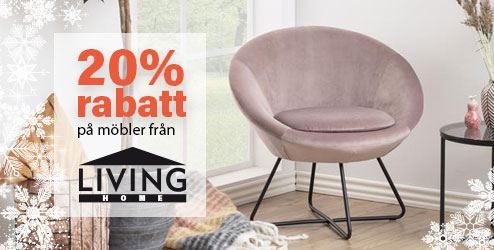 20% rabatt på Living Home