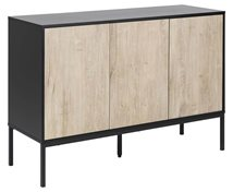 Living Home Sideboard Seaford 3 Dörrar