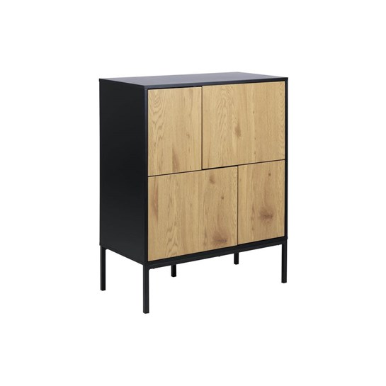 Living Home Sideboard Seaford 4 Dörrar