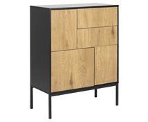 Living Home Sideboard Seaford 3 Dörrar 2 Lådor