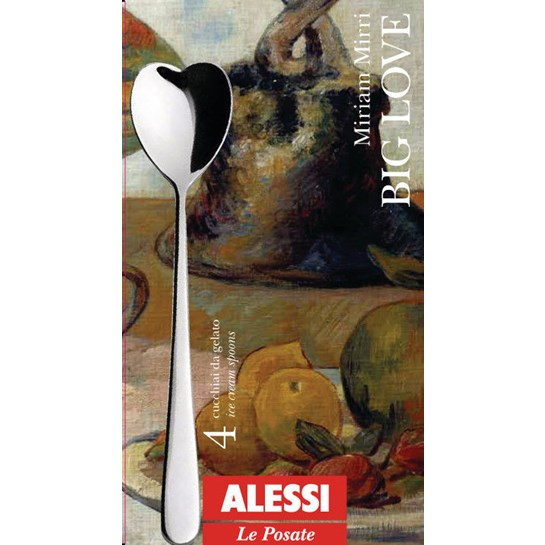 Alessi Glassked Big Love 4-Pack